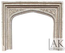 English Tudor Fireplace