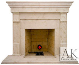 Fireplaces Cast Stone Bradford Mantel Sale