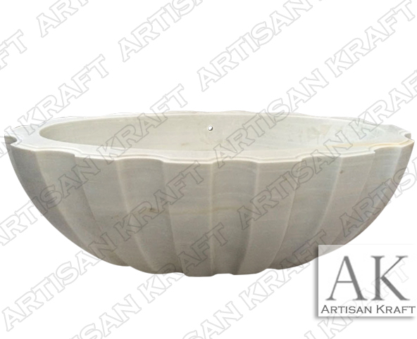 Angel White Textured Tub