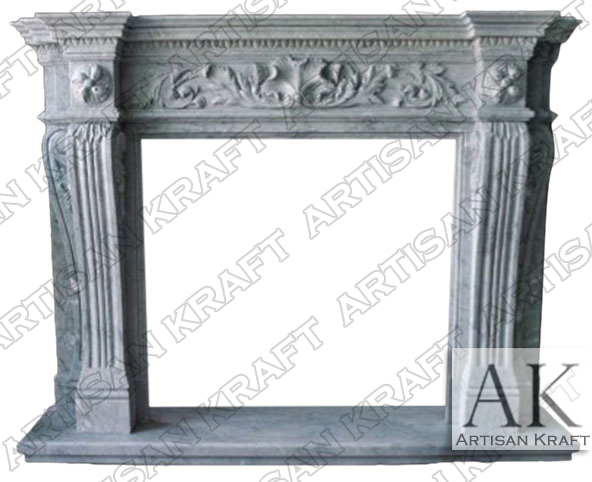 New York Marble Fireplace