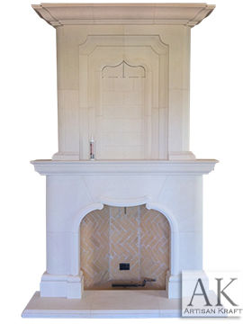 Normandy Cast Stone Overmantel Ideas