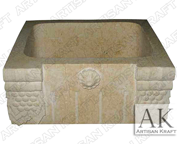 Ornate-Beige-Marble-Farmsink