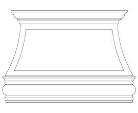 Raleigh Cast Stone Range Hoods Kitchen Vent