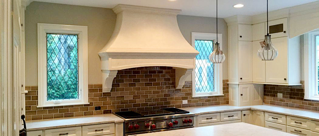 Range Hood Kitchen Cast Stone