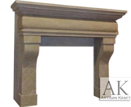 Rustic Sandstone Mantel Surround