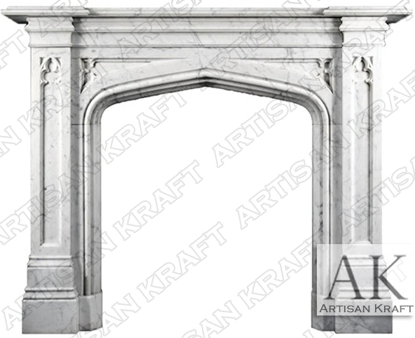 SURROUNDS-FIREPLACES-GOTHIC-TUDOR-ENGLISH-MANTELS
