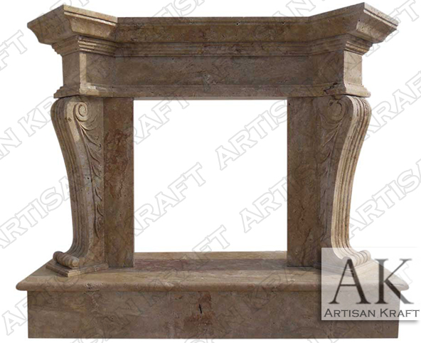 Travertine-Olivia-Surround-Antique-Fireplaces