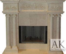 Tuscany Marble Fireplace Surround