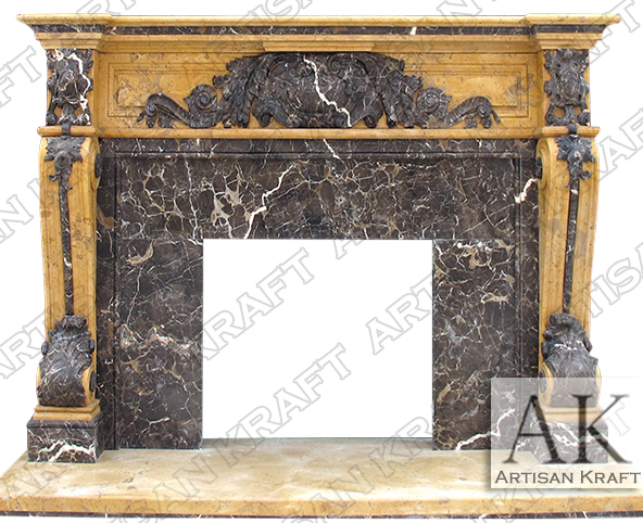 Verona-Regal-Marble-Mantel-French-Marble-Fireplaces