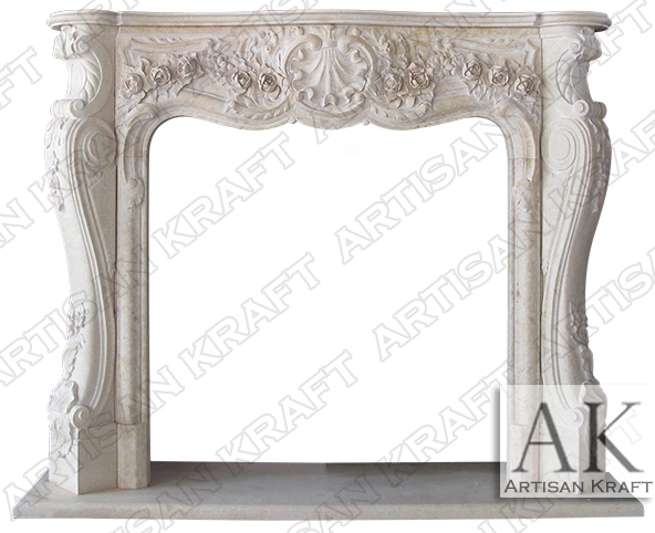 Victoria-Egyptian-Cream-Marble-Fireplace