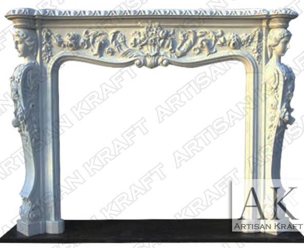 Victorian-White-Marble-Carved-Fireplace