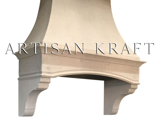 Berkeley Kitchen Cast Stone Hood Copper Cover