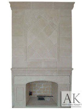 Chadwick Cast Stone Overmantel Surrounds