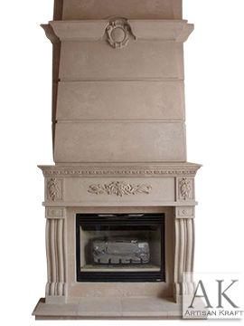 Denver Marble Overmantel Fireplace Mantels
