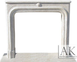 Legacy Travertine Fireplace Mantels