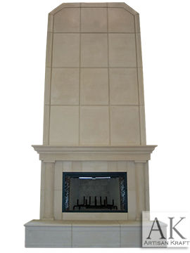 Milwaukee Precast Overmantel Fireplace