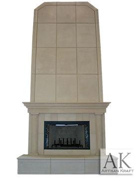 Milwaukee Precast Overmantel Fireplace