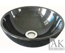 Black Vanity Sink