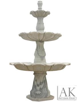 Garden Pedestal Marble Fountain