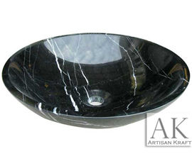 Black Forest Marble Sink