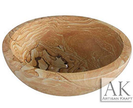 Sandstone Round Soaking Tub | Bowl Bathtub
