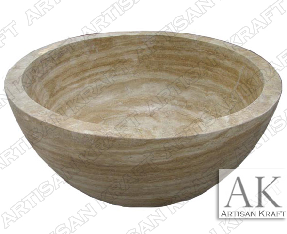 beige-travertine-soaking-tub