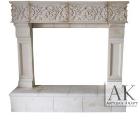 Phoenix Precast Mantel Fireplace
