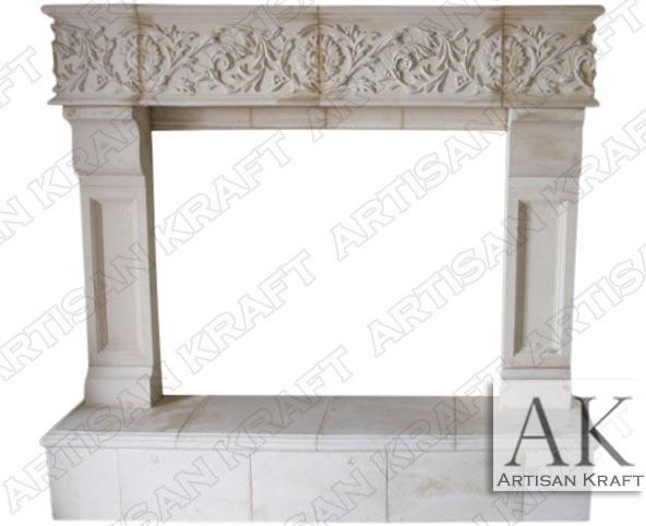 phoneix cast stone fireplace mantel custom