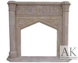 Tudor Dynasty Fireplace Mantel