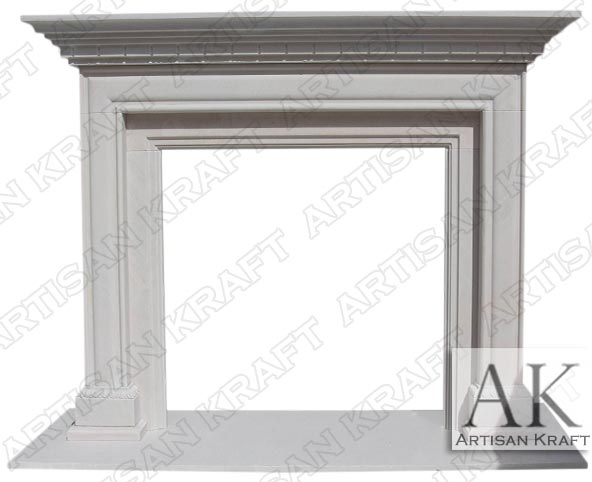 Sandstone Alpine Surround Fireplace