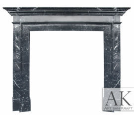 Los Angeles Black Fireplace Surround