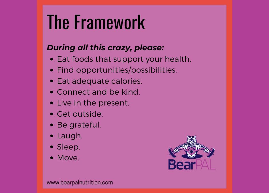 A Healthy Framework & Challenge