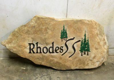 Sandblasted Stone Samples