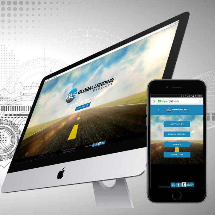 GLS website responsive