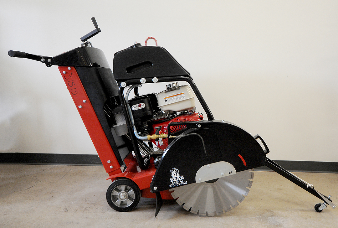 20 inch concrete saw rental