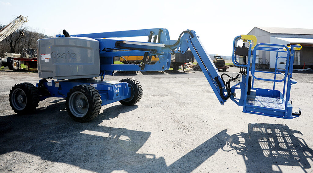 Genie S45 telescopic boom rental