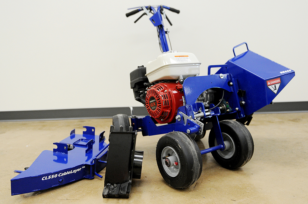 Bluebird Bed Edger Rental with accessories