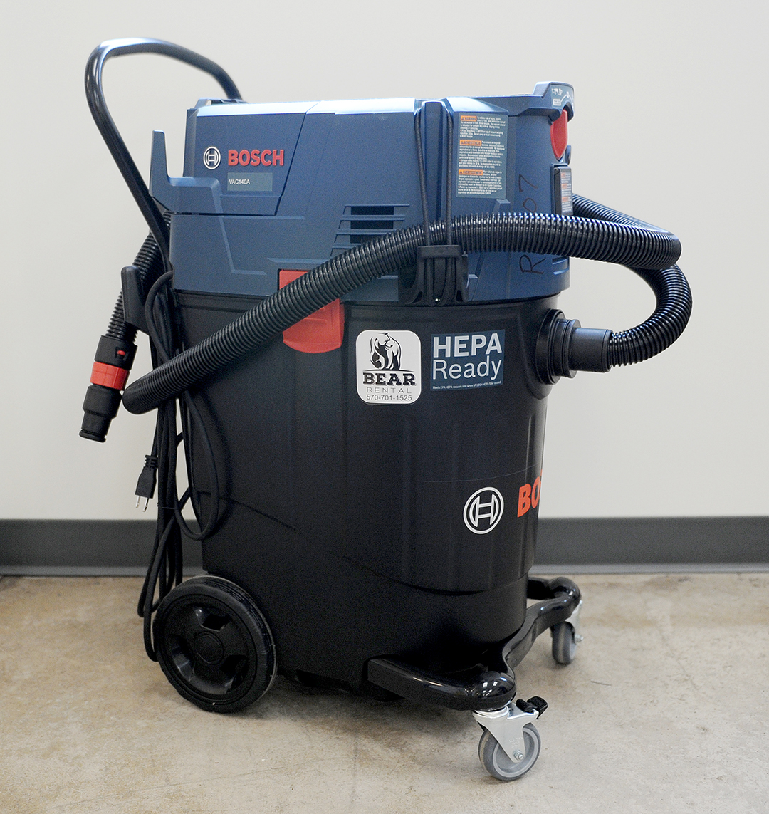 Bosch 14 gallon dust extractor Rental
