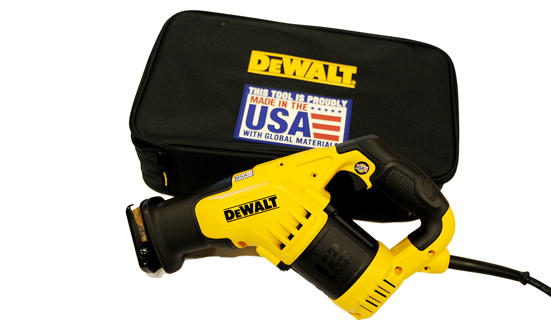 DeWalt 12 amp Compact reciprocating saw rental