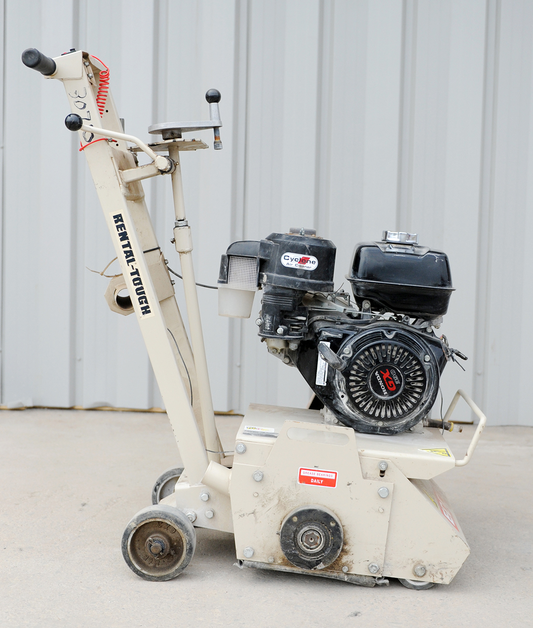 walk-behind scarifier rental