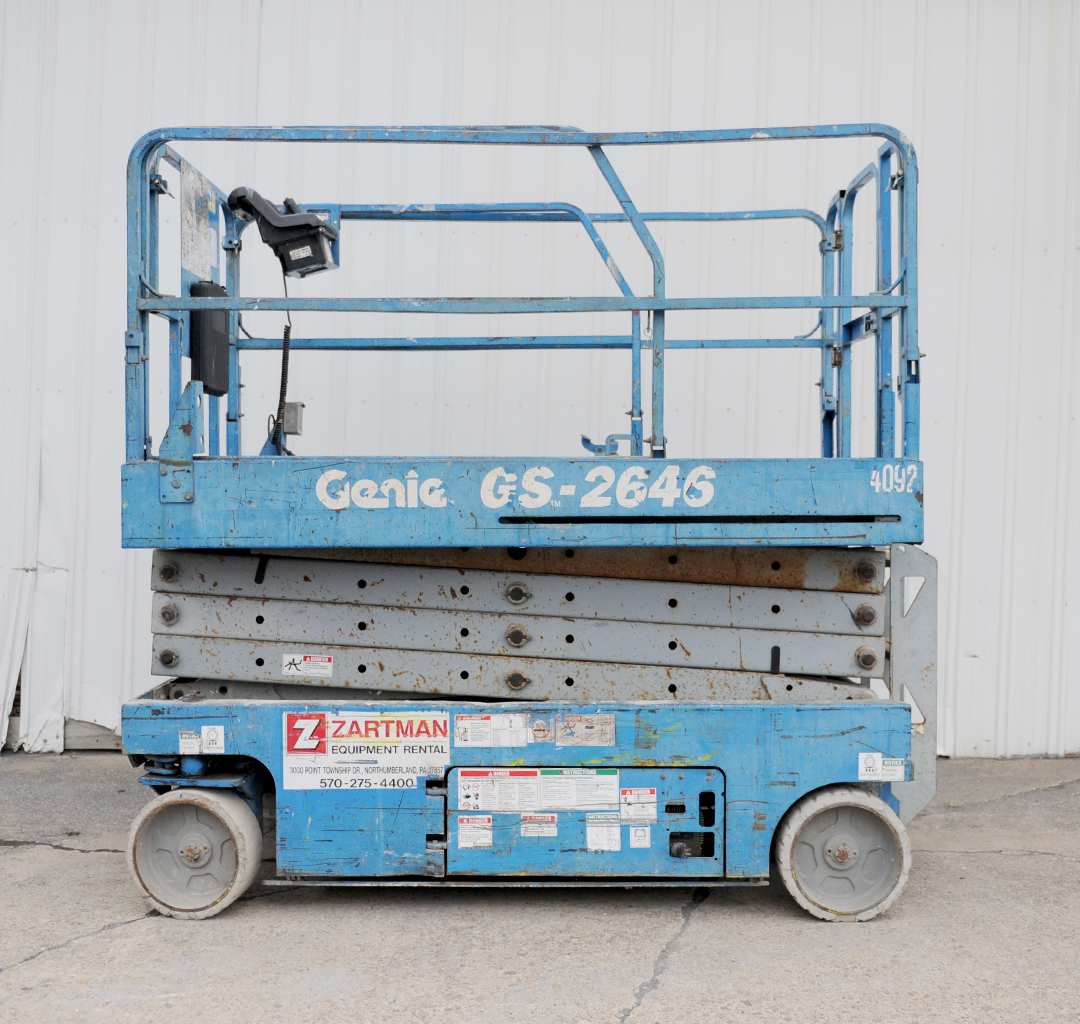 Genie GS-2646 electric scissor lift rental