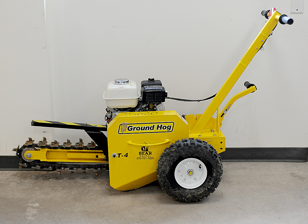 Ground Hog T4 Trencher Rental