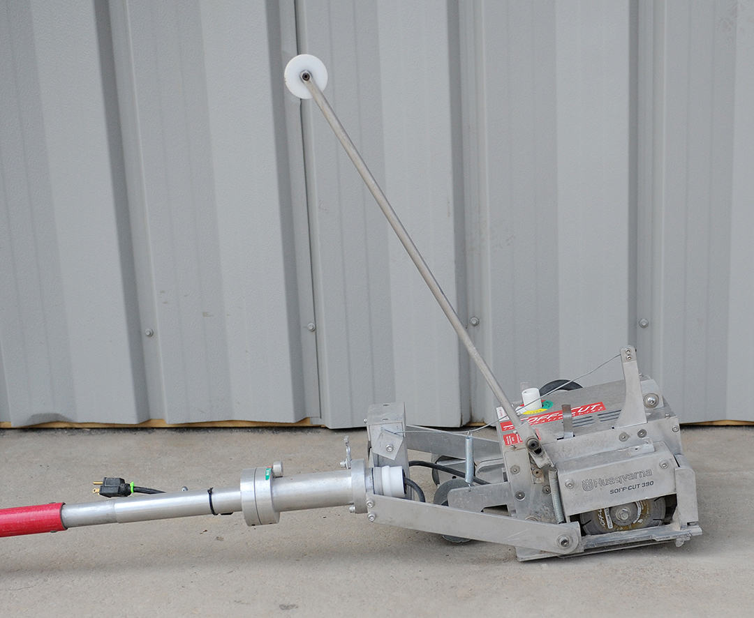 electric concrete saw rental