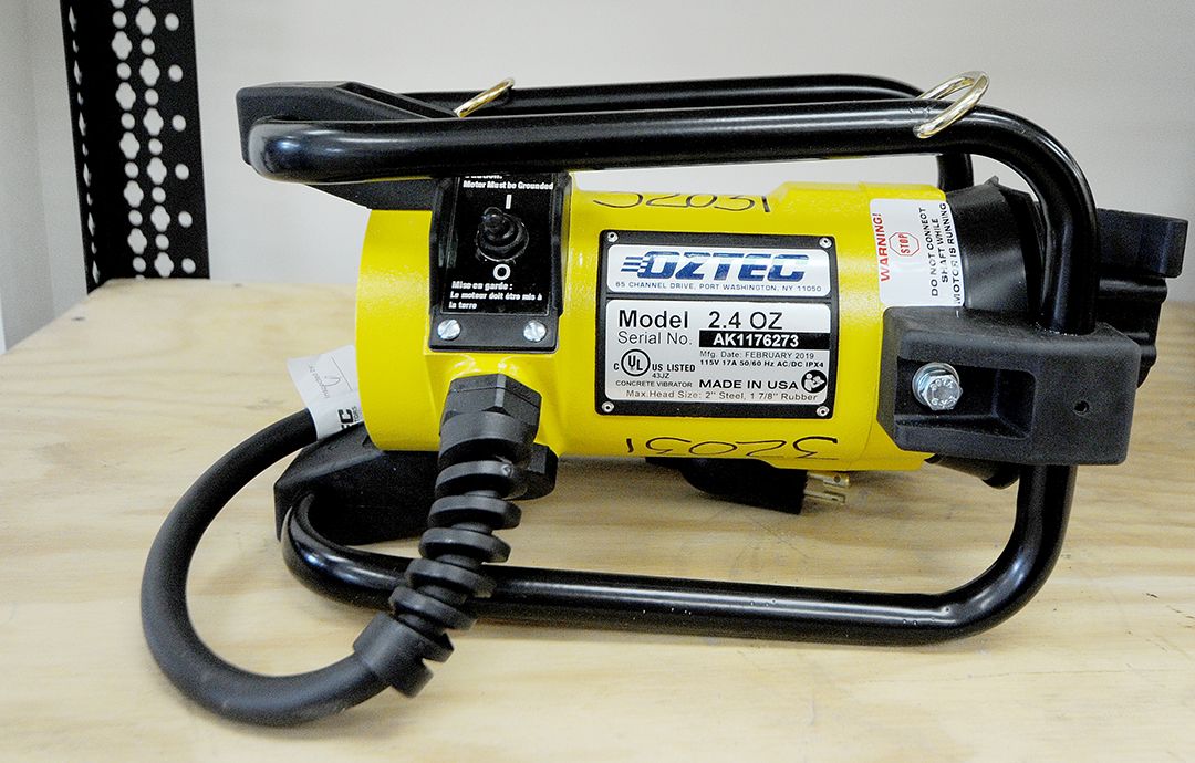 Electric Concrete Vibrator Rental
