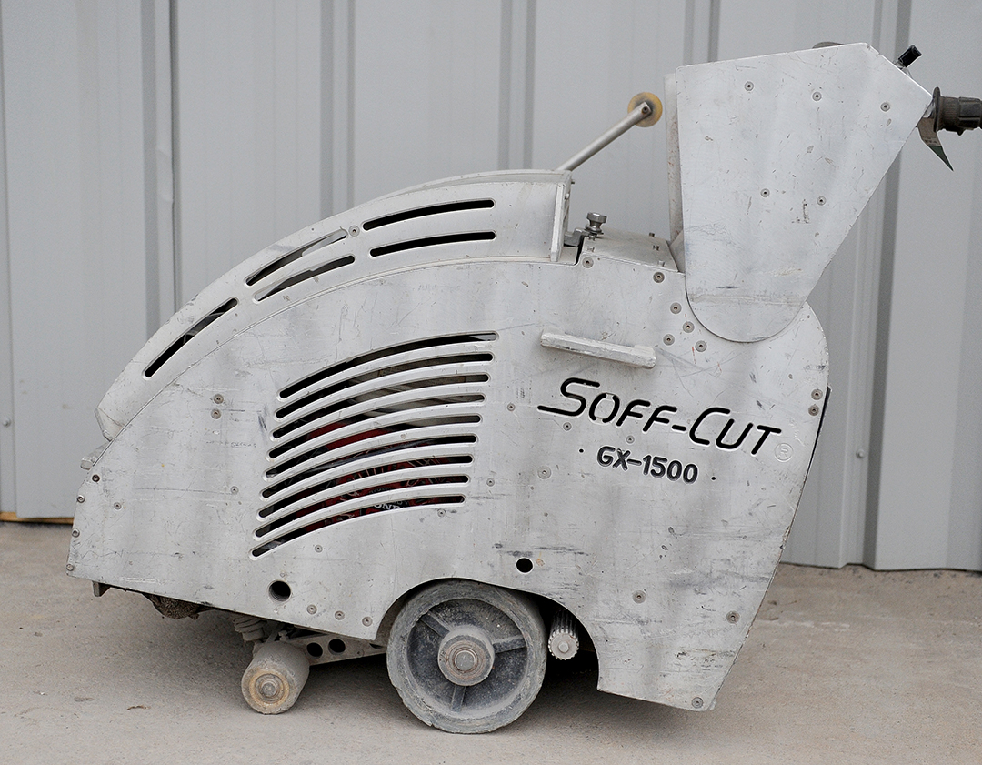 soft-cut concrete saw rental