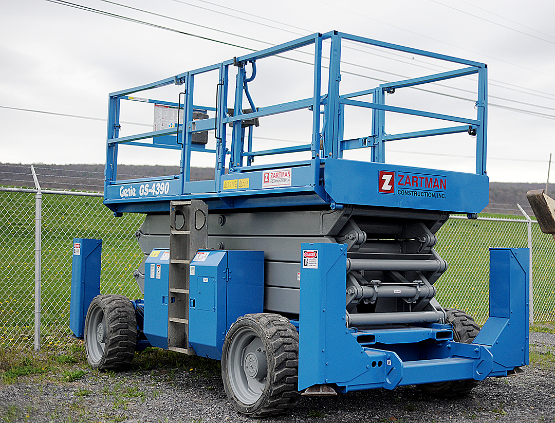 Genie 4390 Rough Terrain Scissor Lift Rental