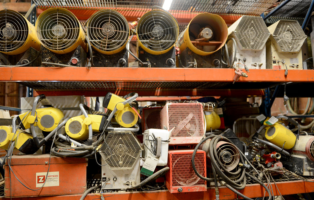 heater rental options at Bear Rental