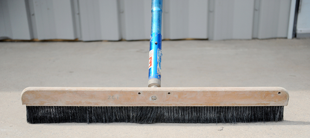 Concrete Broom Rental
