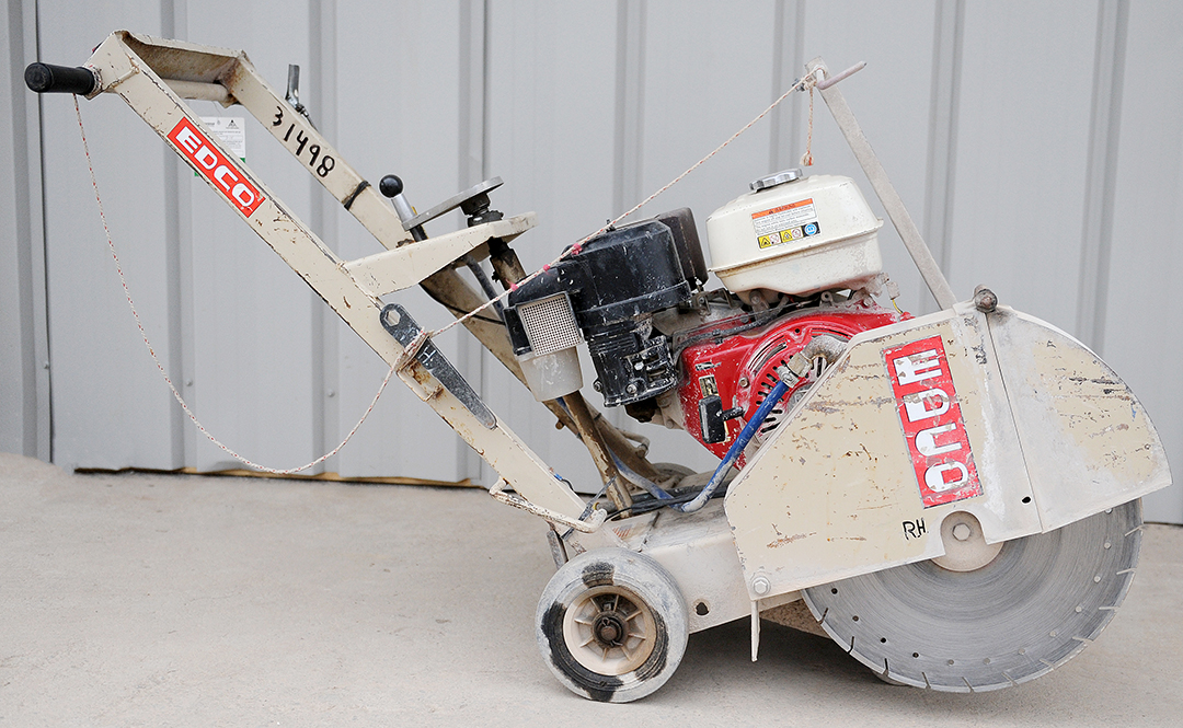 EDCO DS-18 walk-behind concrete saw rental