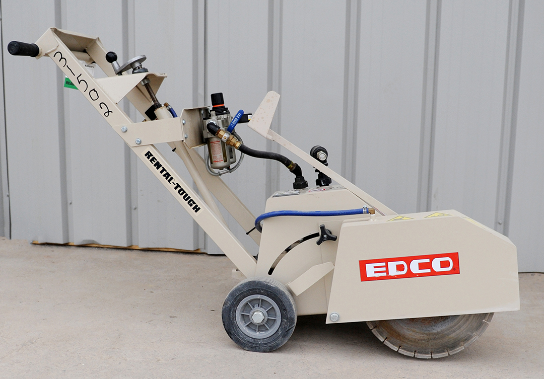 EDCO SK-14 walk-behind saw rental